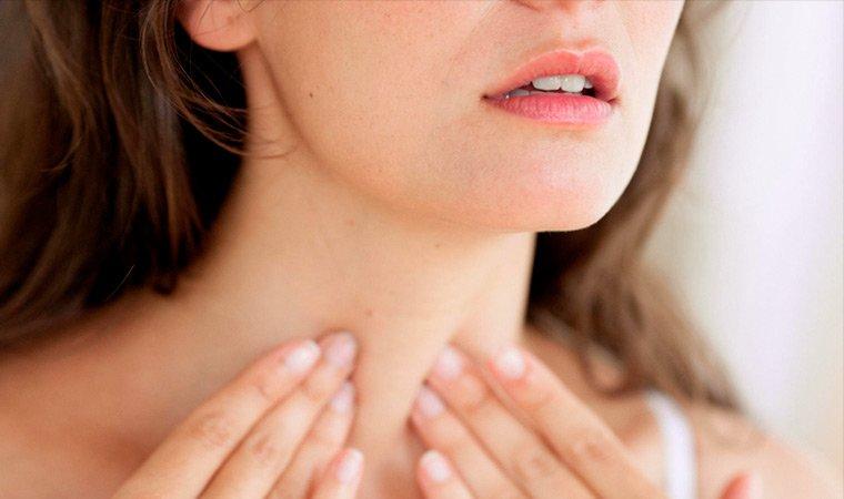 Симптомы болезни щитовидки