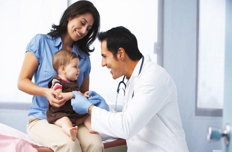 Педиатр - лучший друг детей