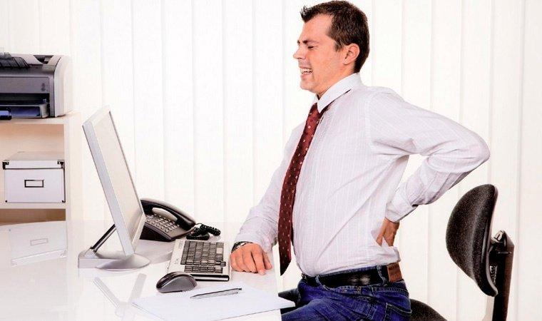 Межпозвоночная грыжа при работе за компьютером