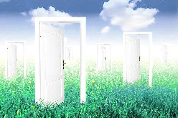 Двери-на-траве