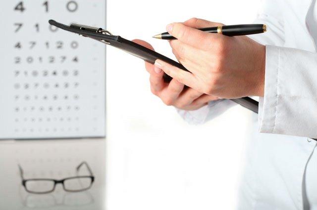 Чеклист проверки зрения