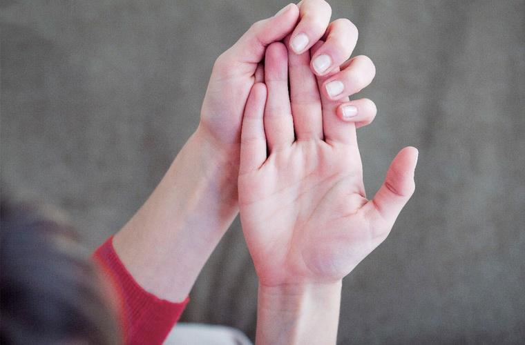 Конечности при синдроме Рейно
